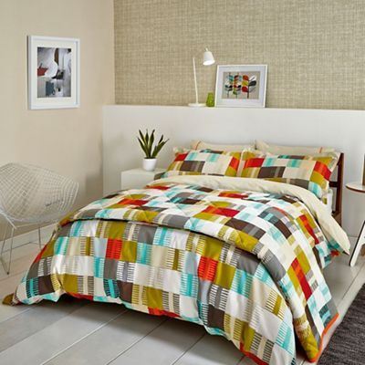 Scion multicoloured cotton navajo bedding set debenhams bed buy scion navajo duvet cover and pillowcase set from our duvet covers range at john lewis gumiabroncs Image collections
