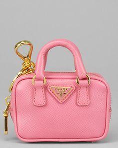 efb5a37c35c0a5 Prada Saffiano Leather Mini Wristlet, super cute for coin purse   My ...