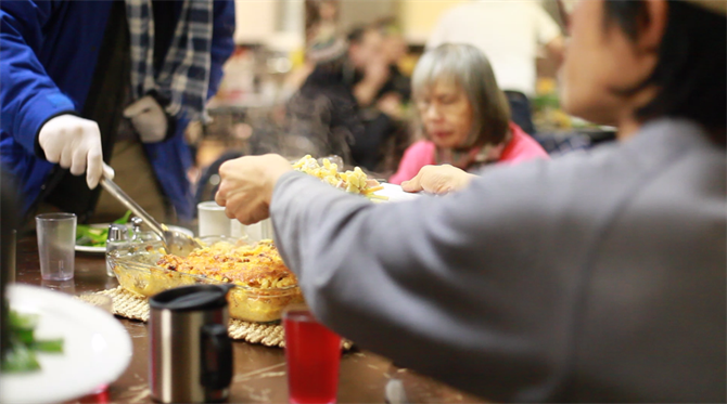 Board member Matt talks about his experience with Crossroads community meal program, and what Thursday night dinners at the Calvary Baptist Church mean to him
