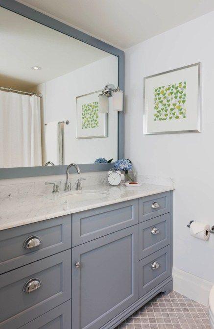 Popular Classic style Amazing - Elegant Gray Vanity Bathroom Ideas Ideas