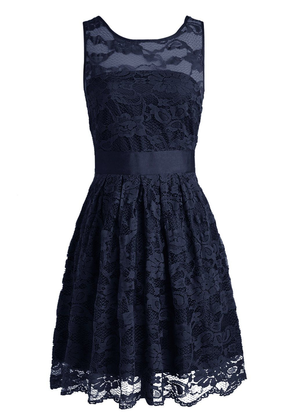 Wedtrend floral lace dress bridesmaid dress short homecoming dress