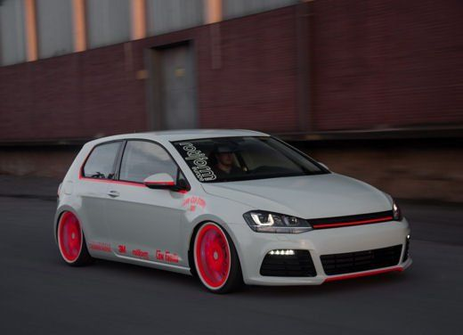 volkswagen golf vii 1 4 tsi tuning by low car scene. Black Bedroom Furniture Sets. Home Design Ideas