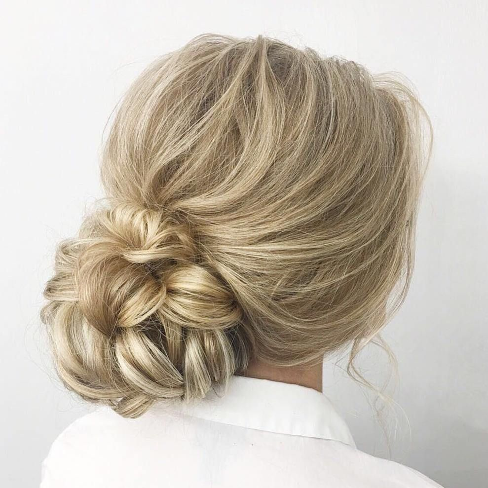 20 Inspiration Low Bun Hairstyles For Wedding 2019 2020: 40 Lovely Low Bun Hairstyles For Your Inspiration