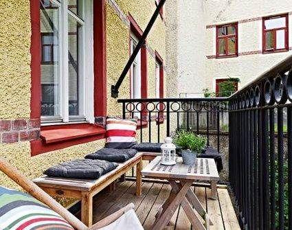 Asientos para balcones pequeños | Balconies and Porch