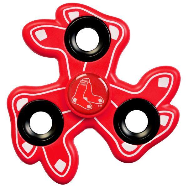 Boston Red Sox Three Way Molded Logo Fid Spinner