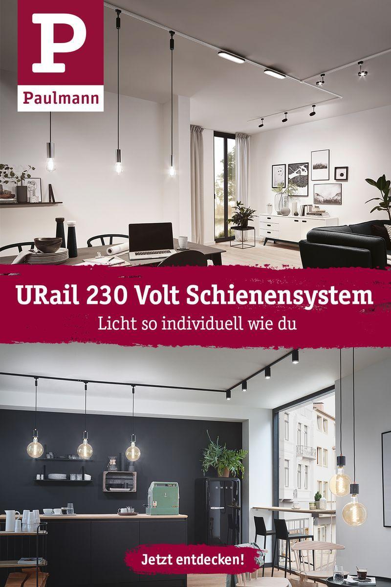 Urail 230 Volt Schienensystem In 2020 Lichtschiene Haus Deko Beleuchtung Dachschrage