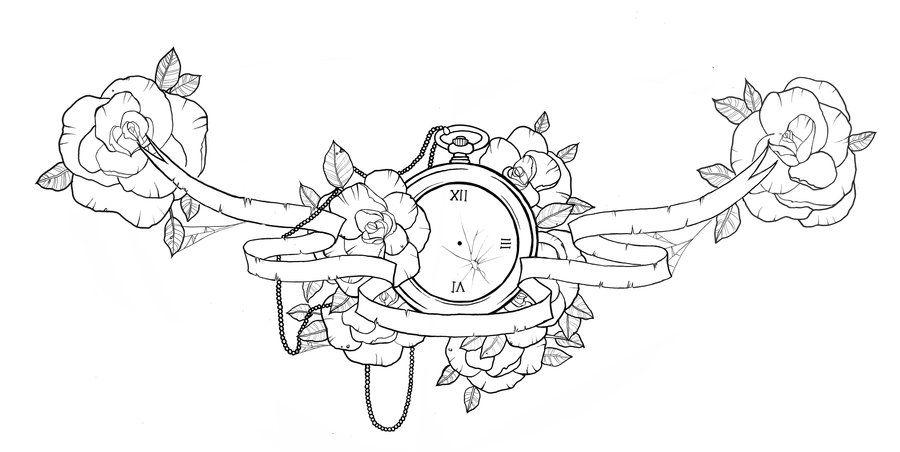 Chest Piece Tattoo Design By Ziuuziuu.deviantart.com