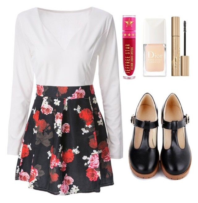 Outfit #1592 by ivanna1920 on Polyvore featuring polyvore fashion style Jeffree Star Stila Christian Dior clothing