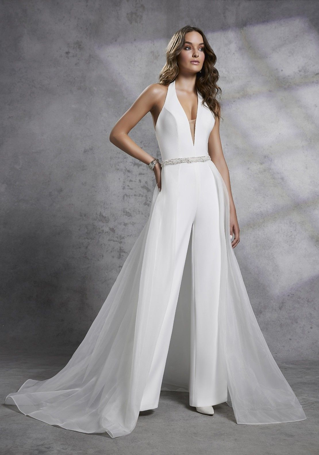 79abd5a022 Mori Lee Bridal, Wedding Jumpsuit, Victoria Dress, Victoria Wedding,  Trouser Suits,