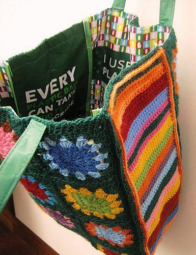 Ravelry: Granny Greenbag pattern by Ellen Bloom