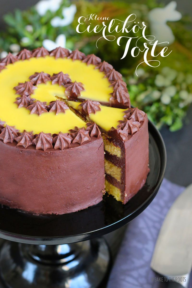 Kleine Eierlikör Torte | Bake to the roots