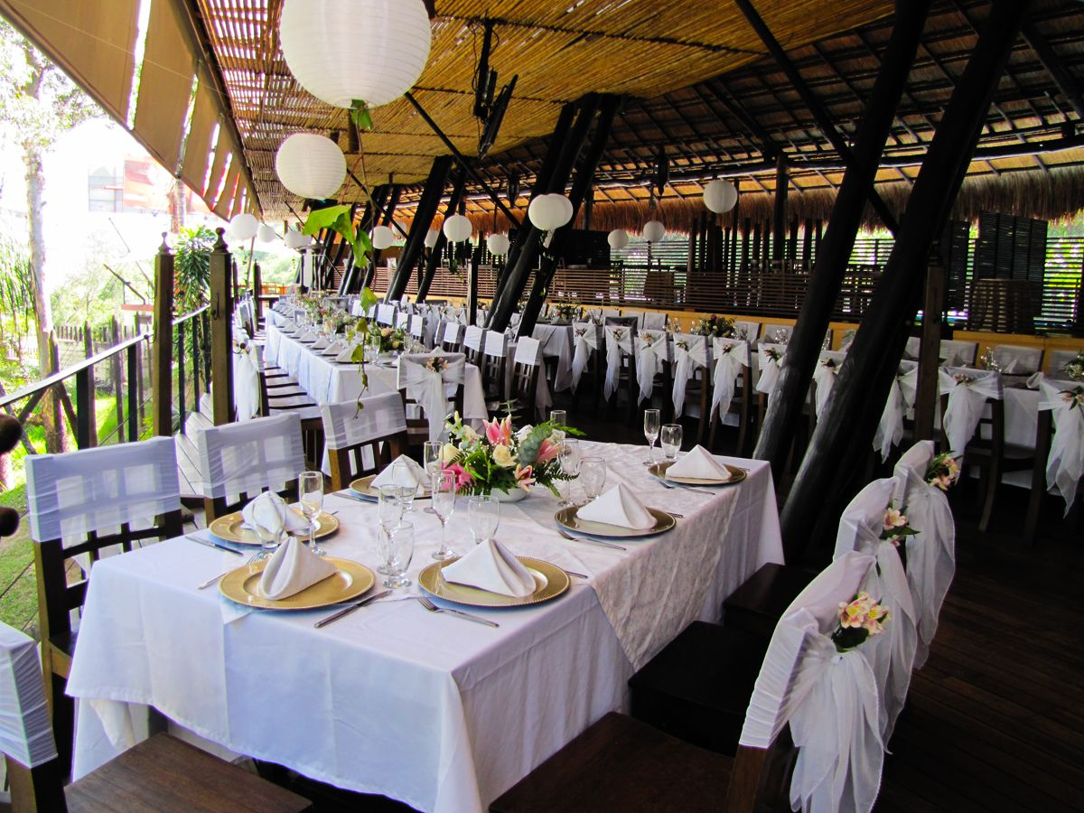 Bodas angusbrangus medell n restaurantes est lo for Bodas jardin botanico malaga