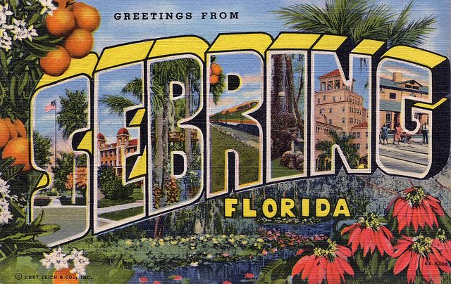 Sebring Floridad here for 7 years