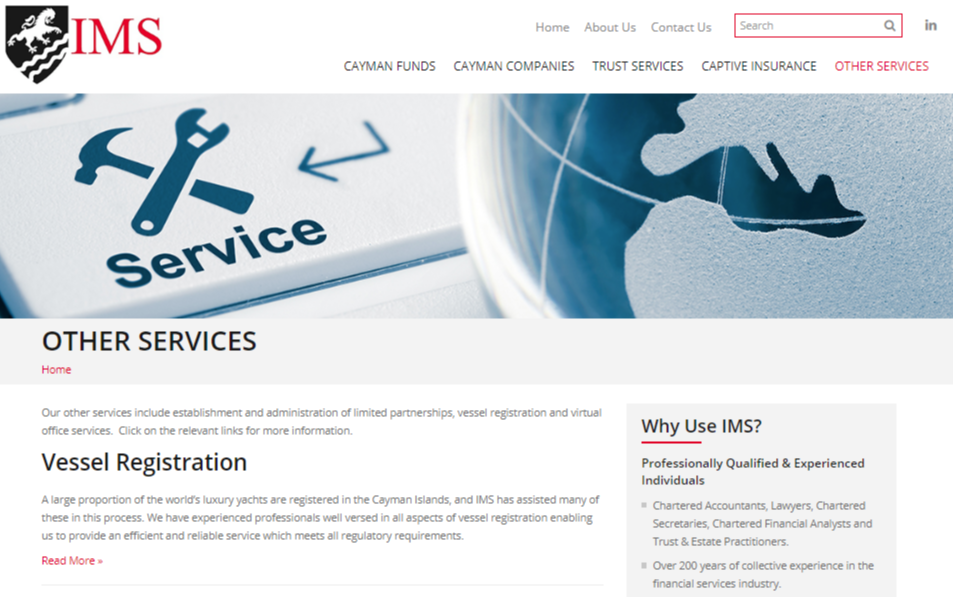 Our Additional Services Include Establishment Administration Of