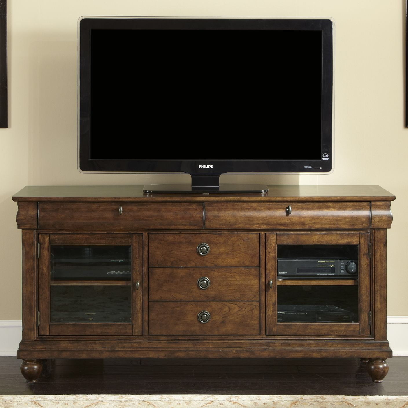 Rustic Traditions TV Stand 1950 s ranch remodel Pinterest