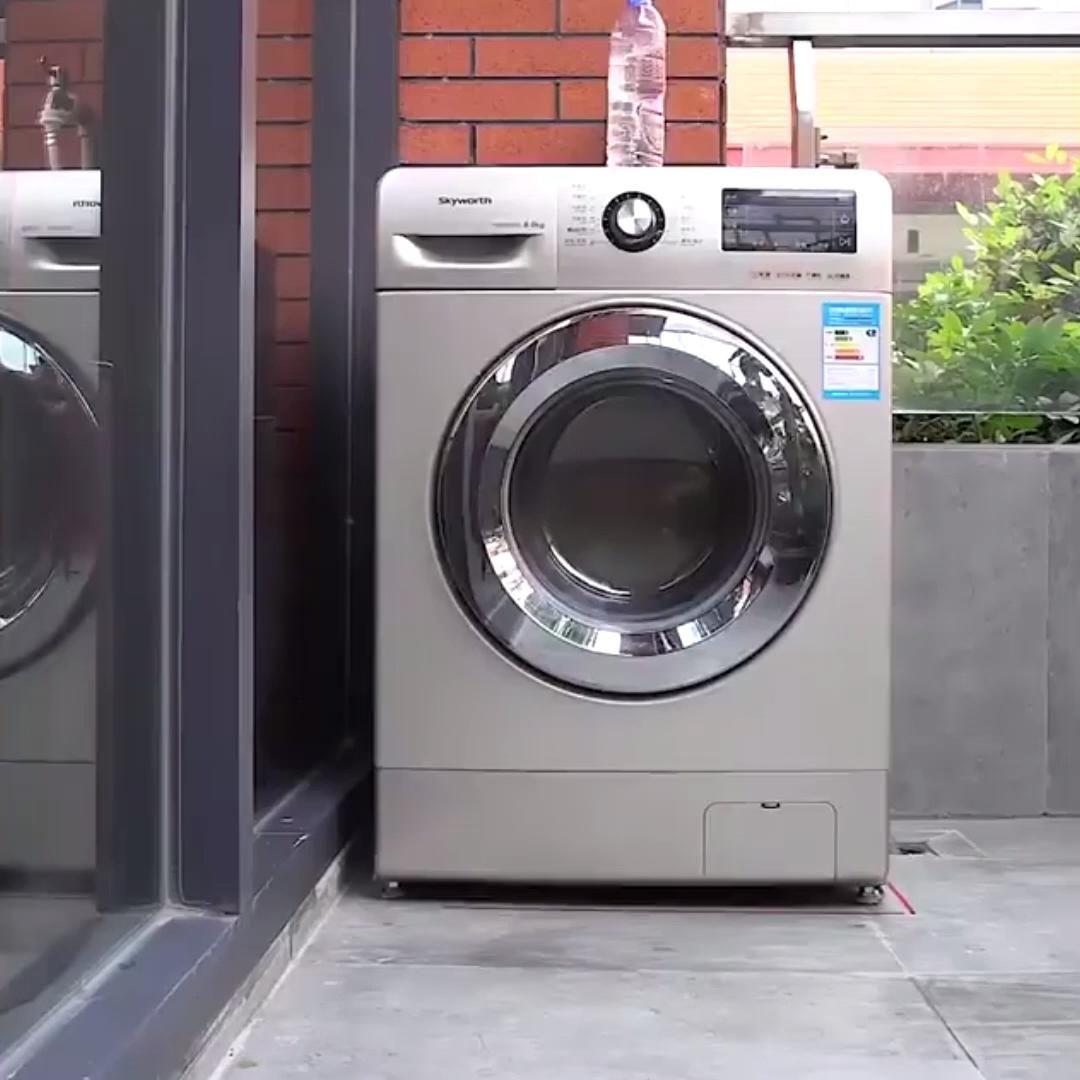 Anti Slip And Noise Reducing Washing Machine Feet Video Washing Machine Home Maintenance Front Loading Washing Machine