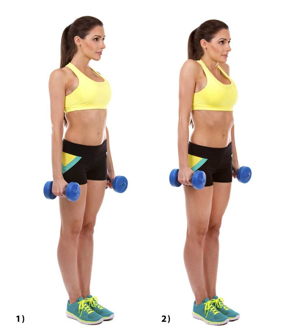 Shoulder Shrugs Don T Get The Attention They Deserve Why You Need Them Calf Exercises Calf Raises Exercise Shrugs Workout