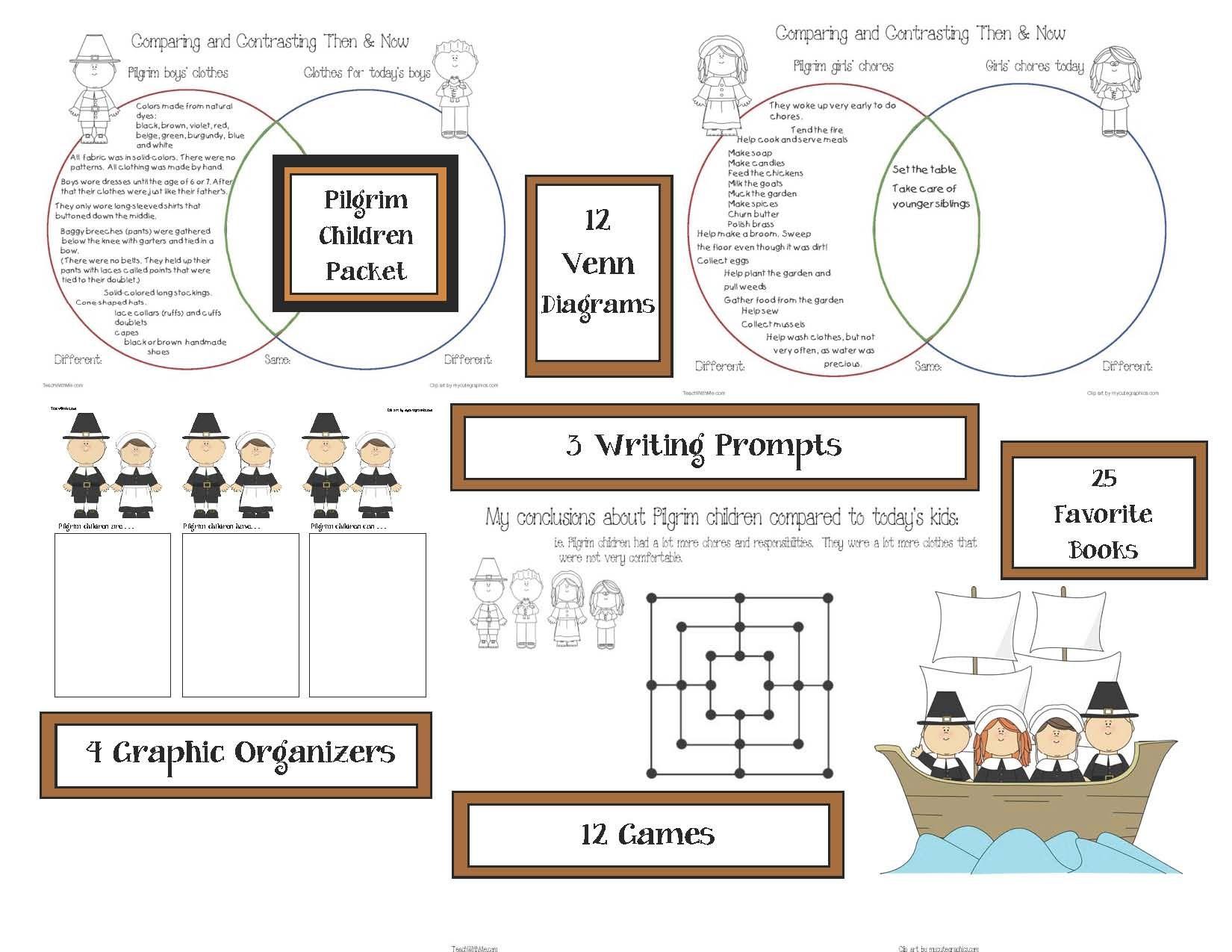 Pilgrim children information venn diagram activities comparison pilgrim children information venn diagram activities comparison and contrast activities venn diagrams for ccuart Images