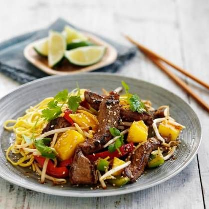 Fruity beef stir fry make sure your mango is ripe for this recipe make sure your mango is ripe for this recipe chinese food recipesall forumfinder Image collections