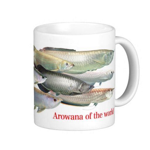 Magnetic cup of arowana of the world