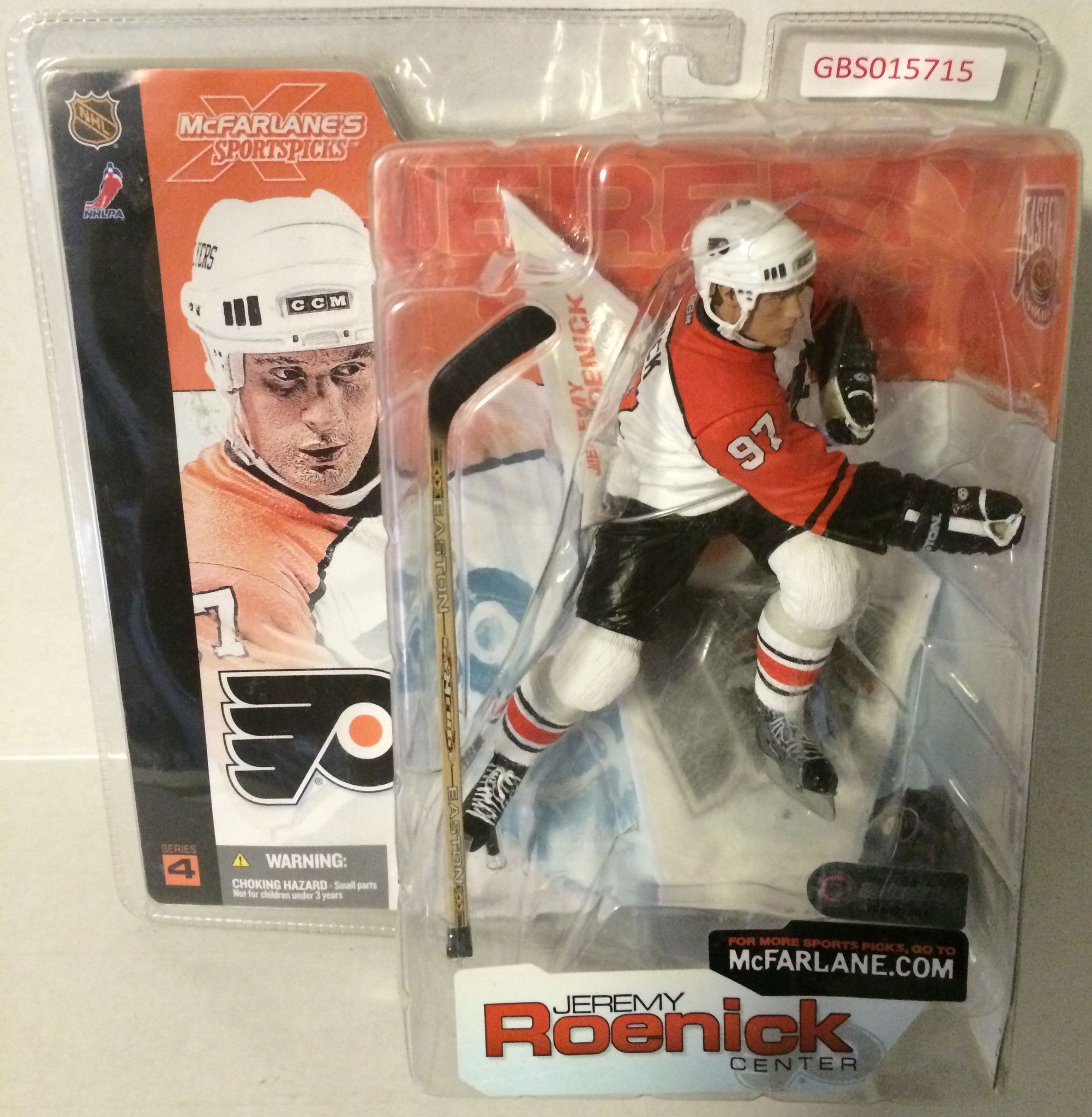 Tas032037 Mcfarlane Nhl Hockey Action Figure Jeremy Roenick Center Nhl Hockey Action Figures Hockey
