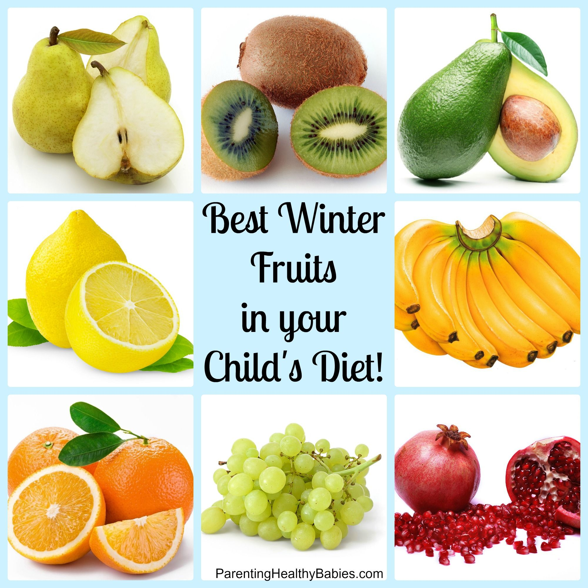 Best Winter Fruits for Your Kids
