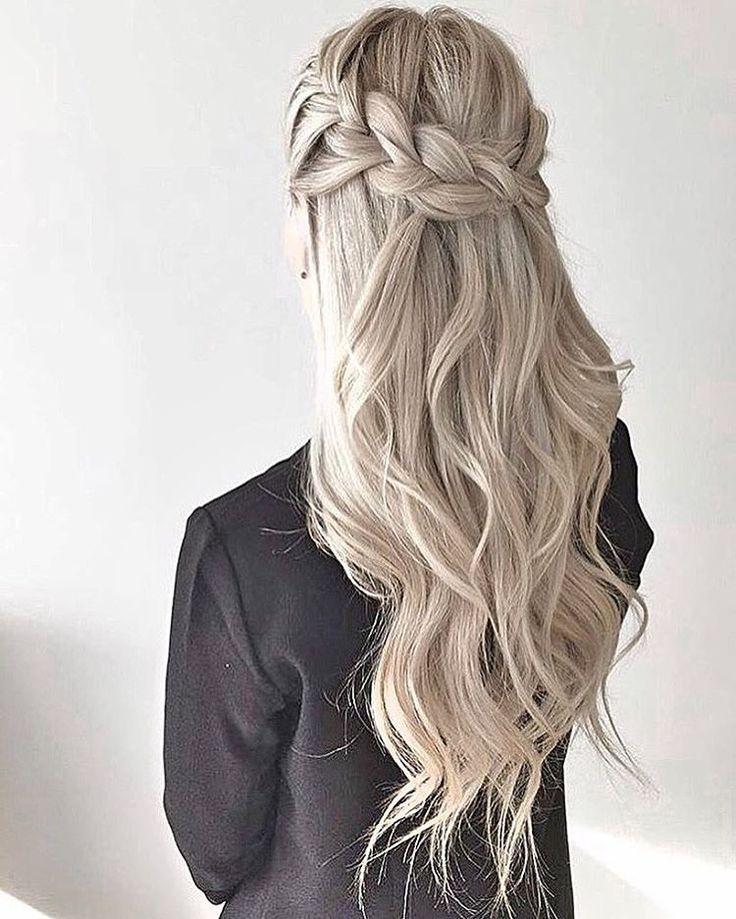 Cute Simple Party Hairstyles For Long Thick Hair For School Beauty Hairstyles Einfache Frisuren Fur Langes Haar Lange Haare Frisuren Langhaar