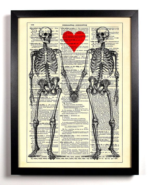till death do us part skeleton love heart book by staygoldmedia 6 99