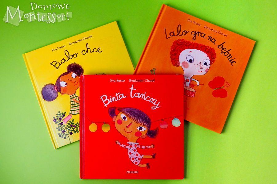 Binta Lalo I Babo Czyli Trylogia Evy Susso Domowe Montessori Montessori Books Book Cover