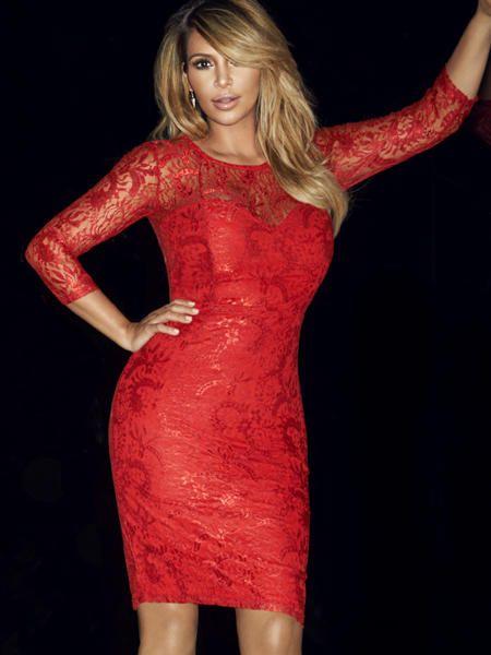 Kim Kardashian: Kleider ihrer Kollektion | sexy Kleider, Kim ...