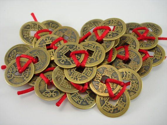 Feng Shui Money Luck Talisman 3-Coins Tied Attract Wealth Lucky Charm - Feng  Shui Earth | Feng shui and money, Feng shui, Plant gifts
