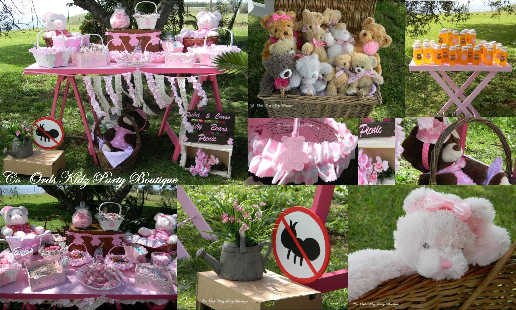Teddy Bears Picnic in the Park by Co-Ords Kidz Party Boutique