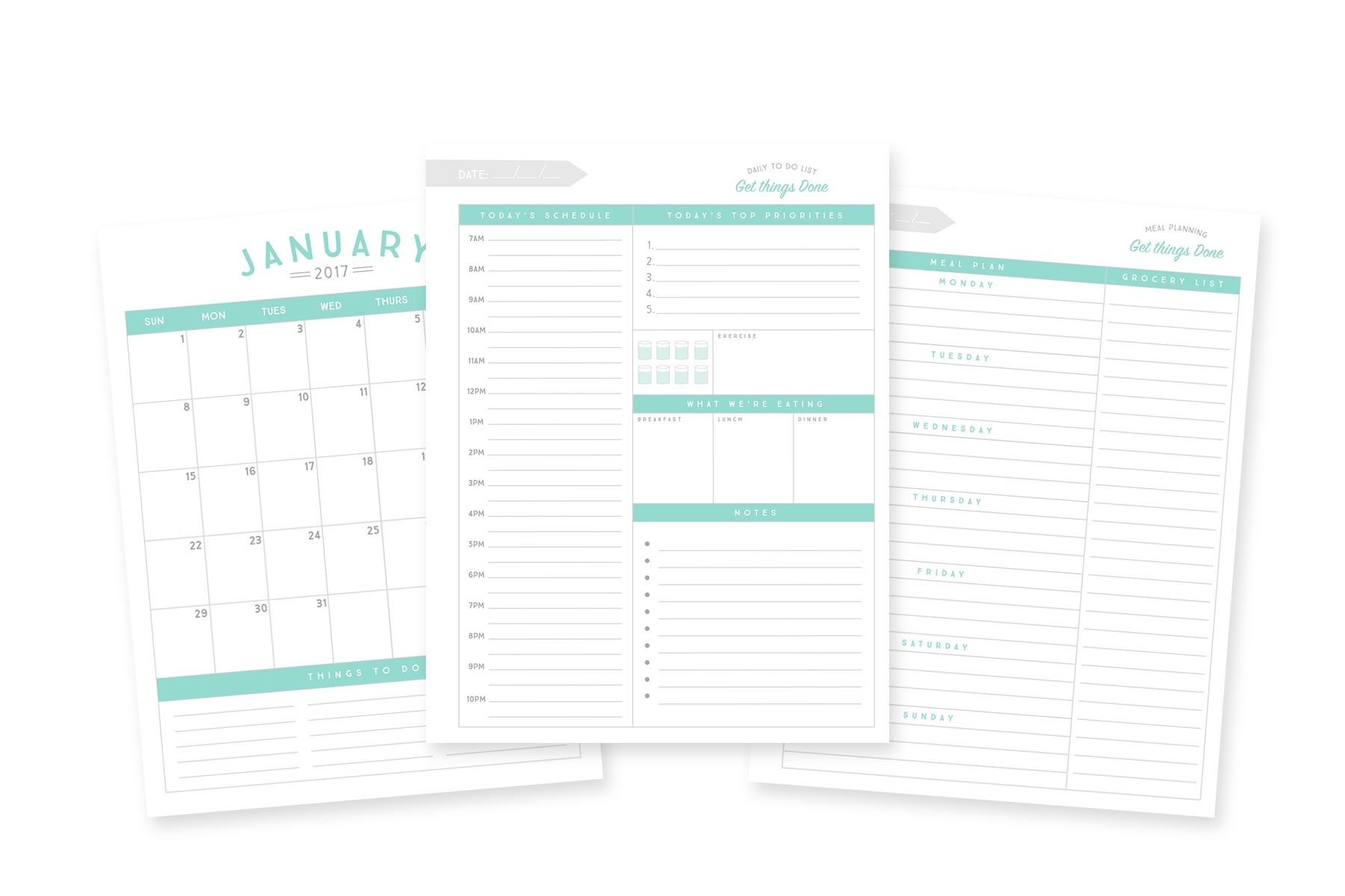 the best day planners for 2018 planners