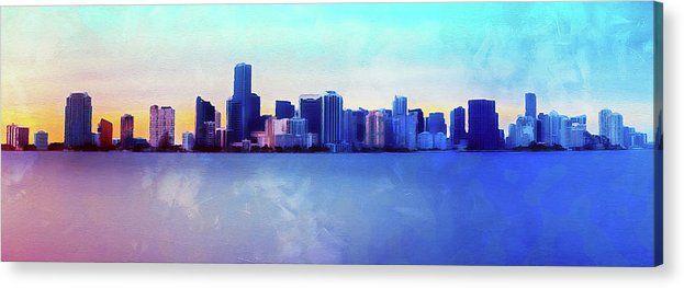 Miami Miamibeach Florida Usa Unitedstates City Landscape Cityscape Fineart Fineartamerica Wallart Art