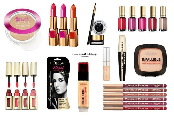 10 Best L Oreal Makeup Beauty Products In India Mini Reviews Prices Heart Bows Makeup Indian Makeup Work Makeup Loreal Makeup Loreal Paris Makeup