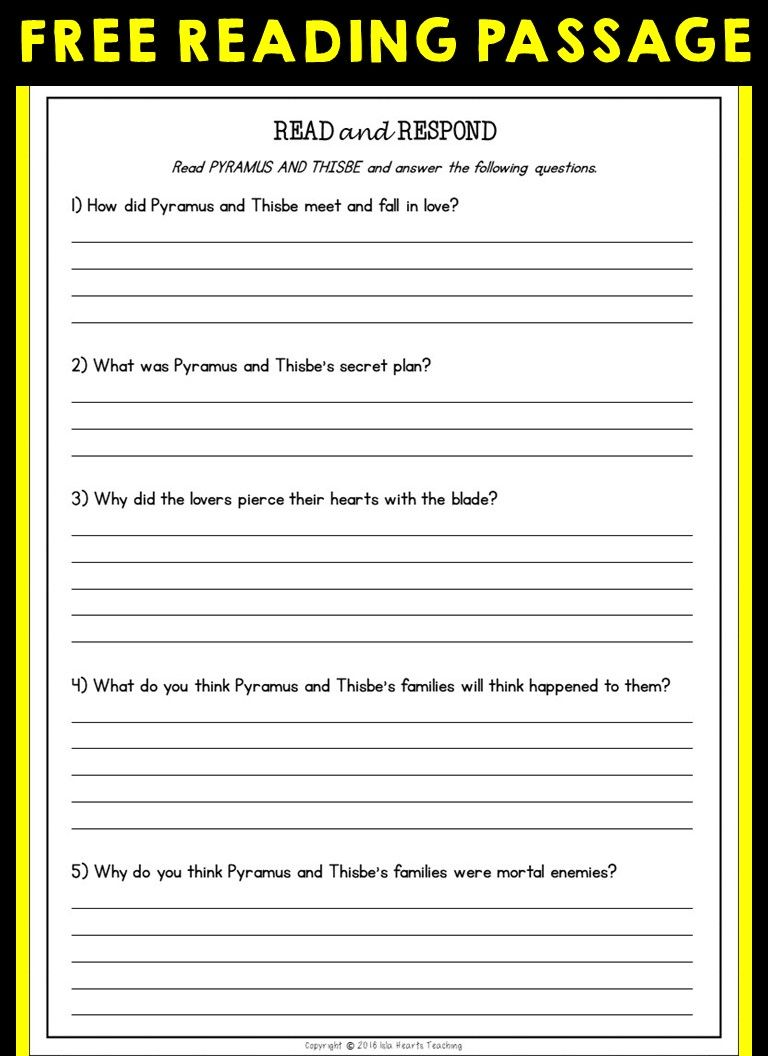 Free Reading Comprehension Reading Comprehension Reading Comprehension Worksheets Reading Worksheets 4th grade reading comprehension