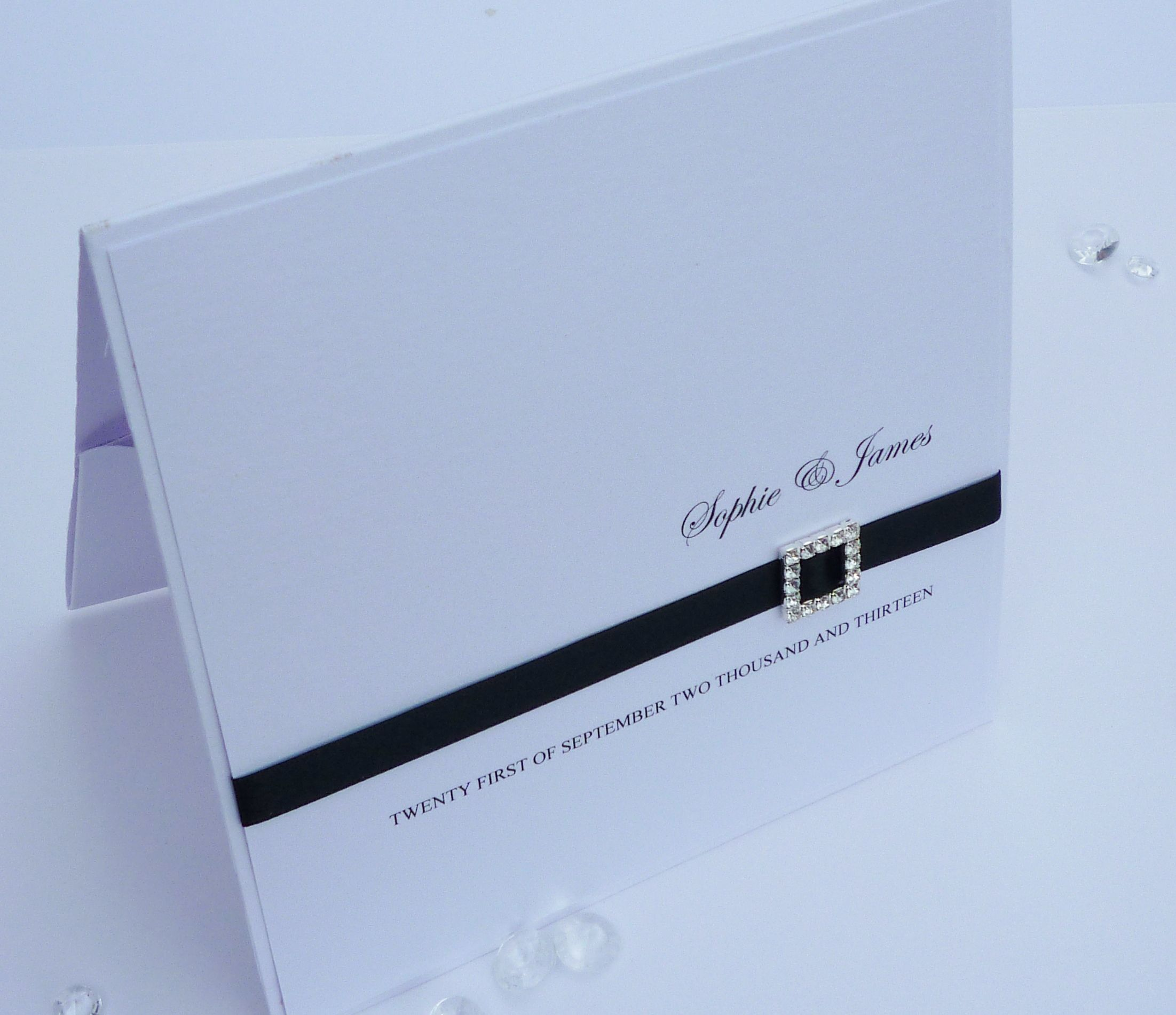 Luxury Handmade Pocketfold Wedding Invitation Handmade By Becky By