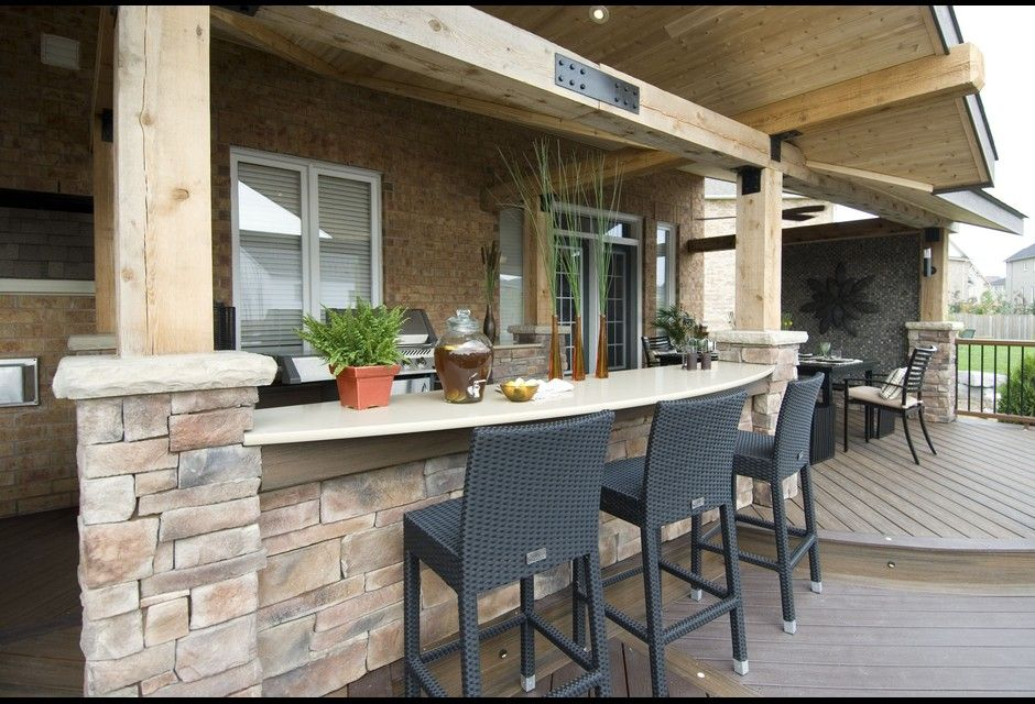 Decked Out Patio projects, Patio inspiration, Backyard