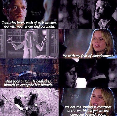 The Originals    Klaus & Rebekah