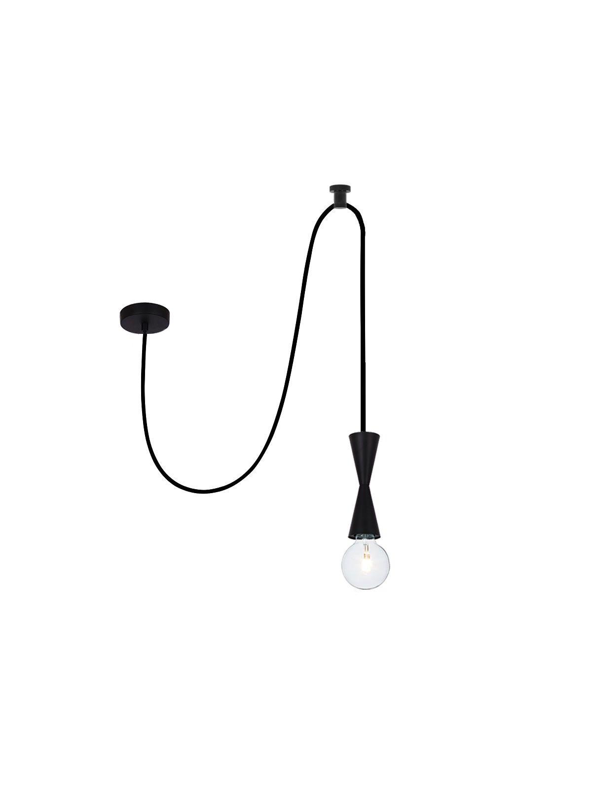 Enhance Pendant Hook in Black Brooklyn Kitchen