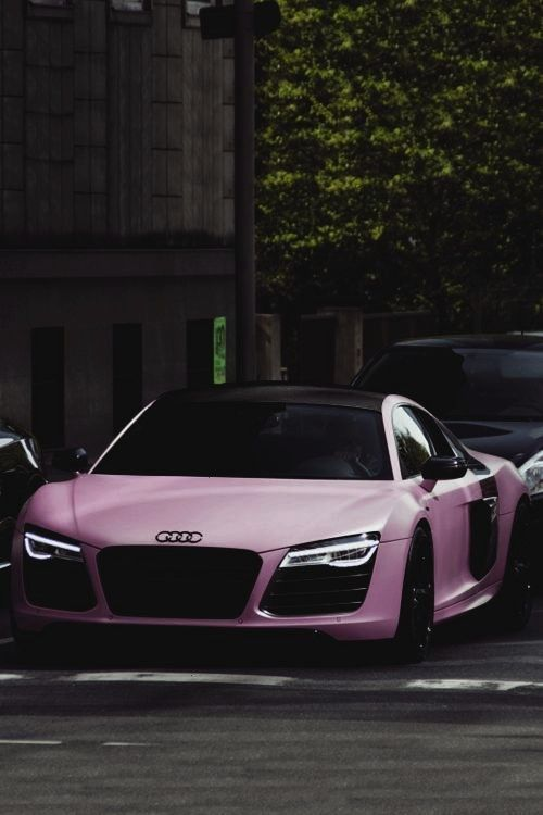 For my lady followers, Audi R8 V10 Plus matte pink | photographerclassyhustler: For my lady followe
