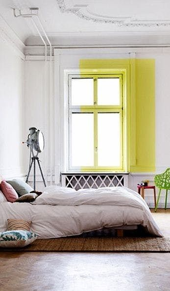 Get Funky Ideas To Try If One Color Walls Totally Bore You Home