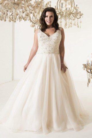 Die 25 umwerfendsten Hochzeitskleider für Kurvenstars | Wedding and ...