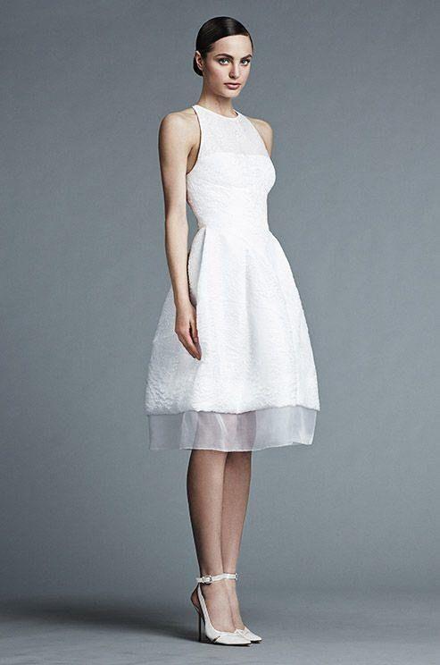 Casual Wedding Dresses For The Minimalist | Wedding | Pinterest ...
