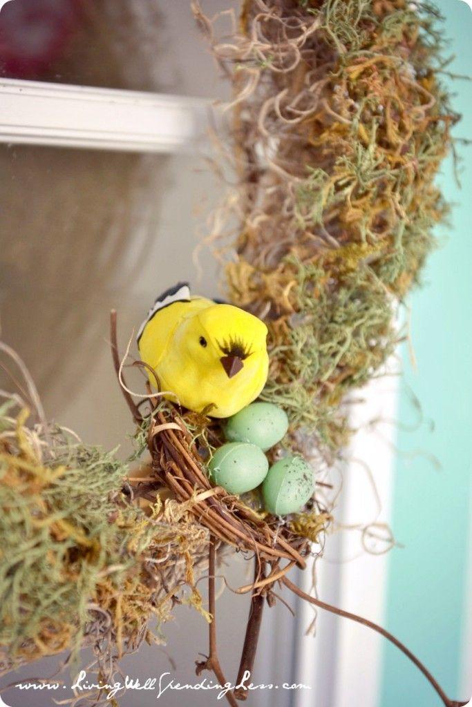 Easy Dollar Tree Moss Wreaths Diy Ideas Pinterest Wreaths Diy