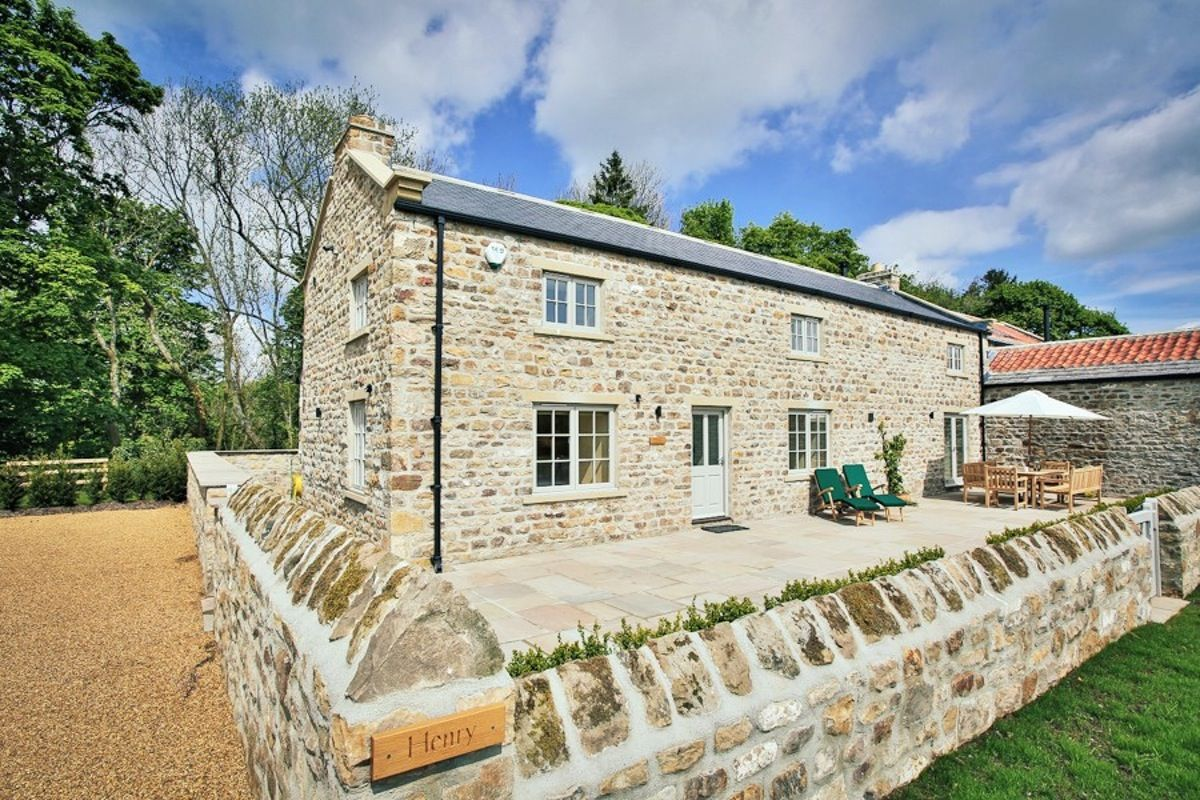 Three luxury barn conversions overlooking the lush Yorkshire Dales