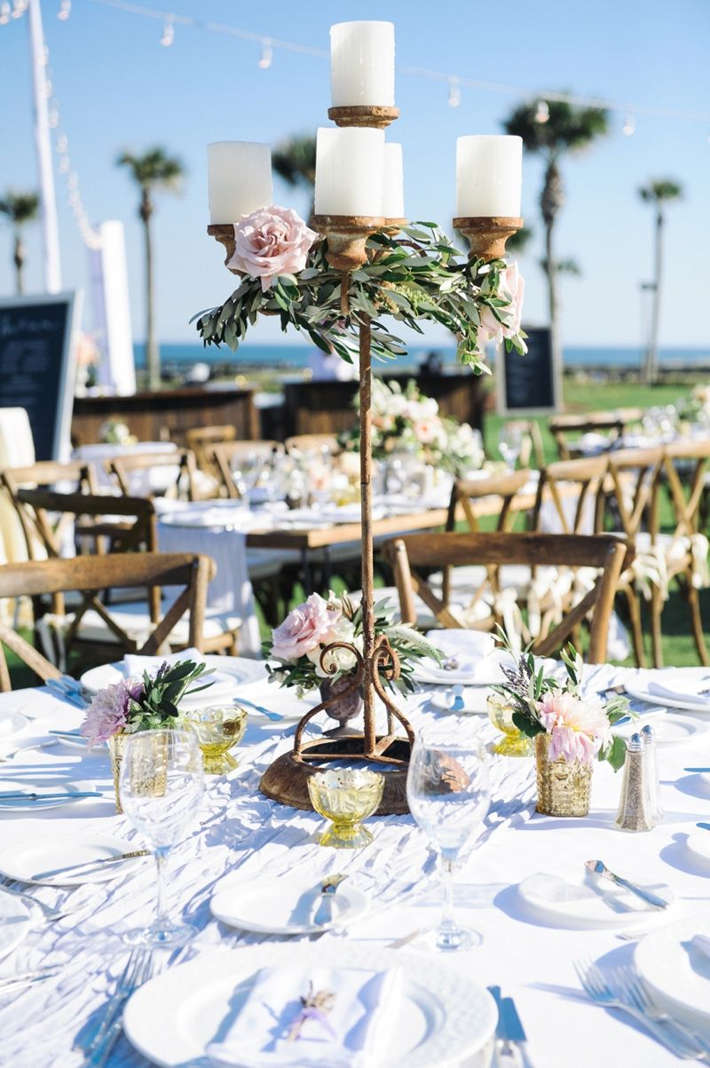 Romantic Blush Amelia Island Wedding Every Last Detail Island Weddings Wedding Centerpieces Island Wedding Locations