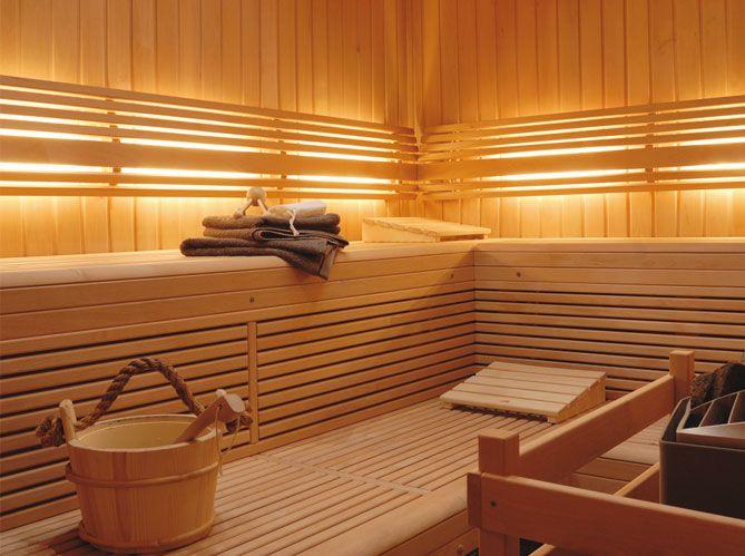 Salle de bain spa   Bathroom spa  wwwmaison-deco salle-de - faire un sauna maison
