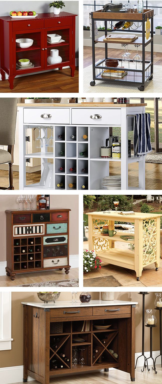 Entertain in style with our best sideboards and kitchen carts from