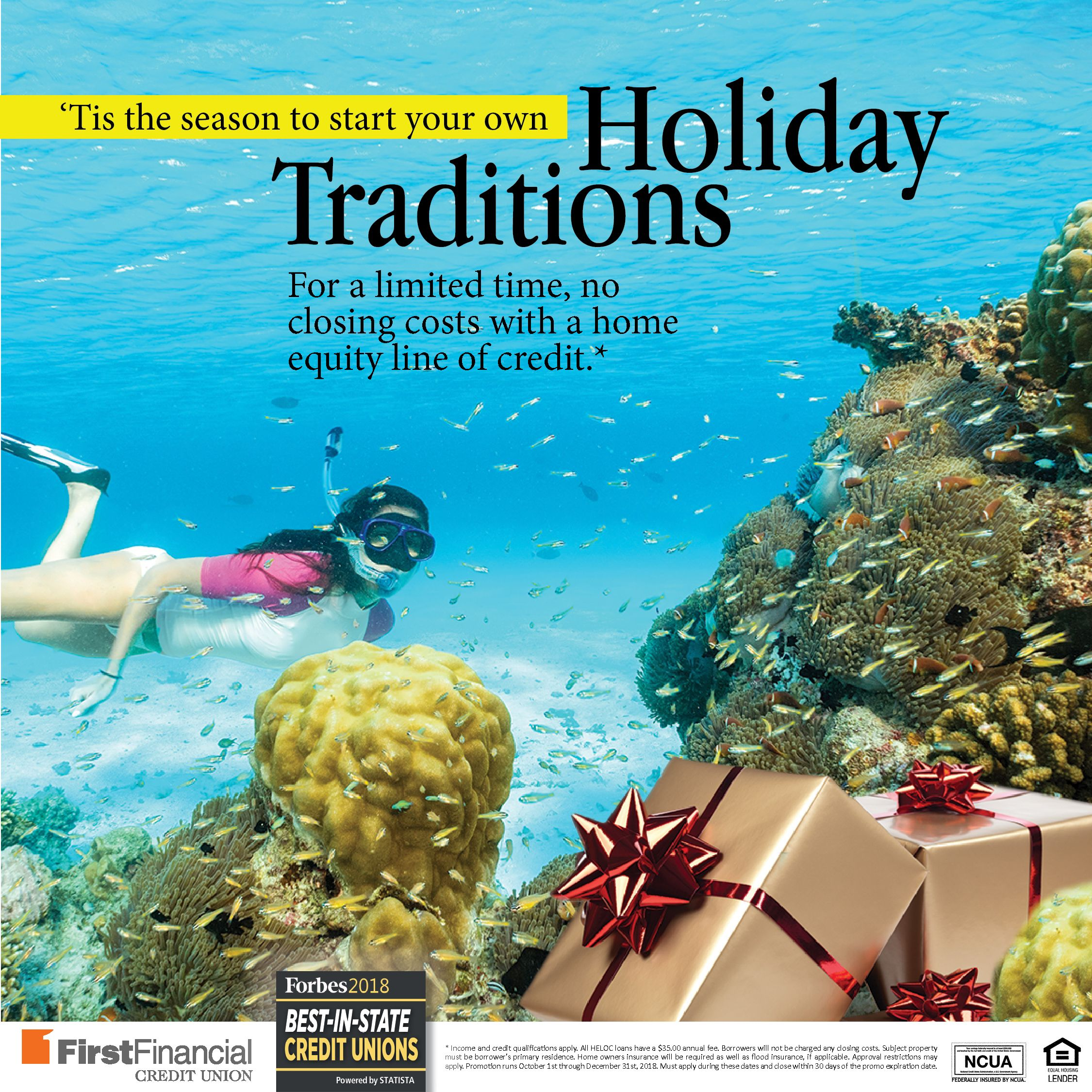 Tis the Season to start your own Holiday Traditions! Check
